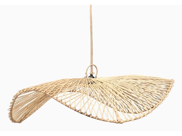 Lampa wisząca Chapeau Ratan Naturalna Lampa z abażurem Wiklina Ilość źródeł światła 1 źródło
