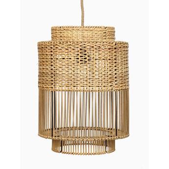 Lampa wisząca Ratan Colonial Naturalna