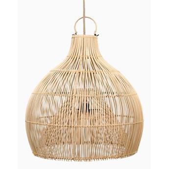 Lampa wisząca Wazon Ratan Naturalna