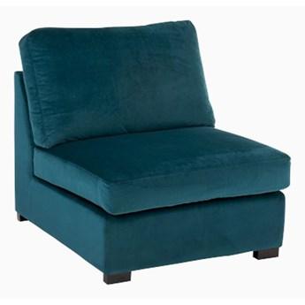 Sofa Middle Aksamit Turkus moduł