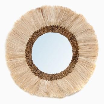 Lustro okrągłe Mowgli Naturalne L