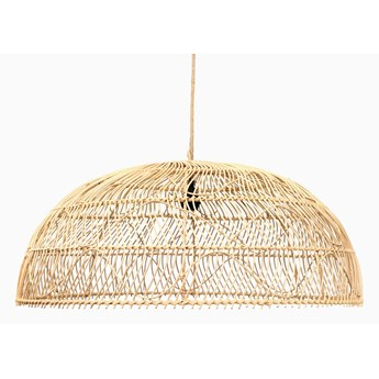 Ratanowa wisząca lampa Naturalna