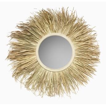 Naturalne lustro z trawy