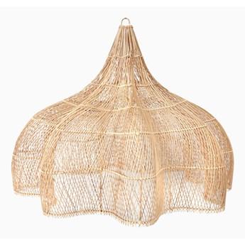 Ratanowa wisząca lampa Mandala XL