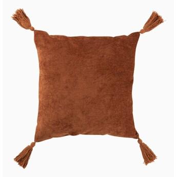Poduszka z frędzami Ruda