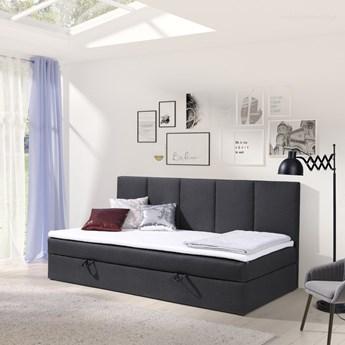 Łóżko kontynentalne Alice 90x200 z pojemnikiem