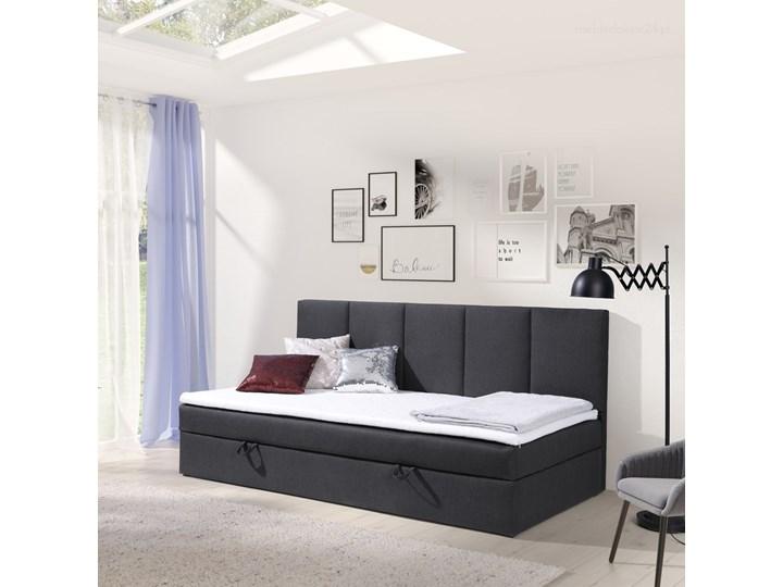 Łóżko kontynentalne Alice 90x200 z pojemnikiem Kategoria Łóżka do sypialni