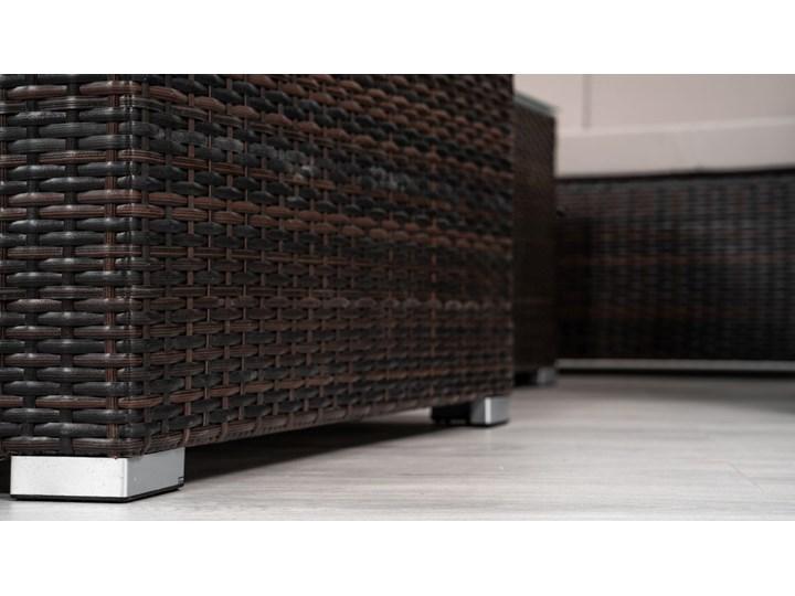 MEBLE OGRODOWE Z TECHNORATTANU RODOS (FC-1026) BRĄZOWY Zawartość zestawu Stolik Zestawy wypoczynkowe Zawartość zestawu Sofa