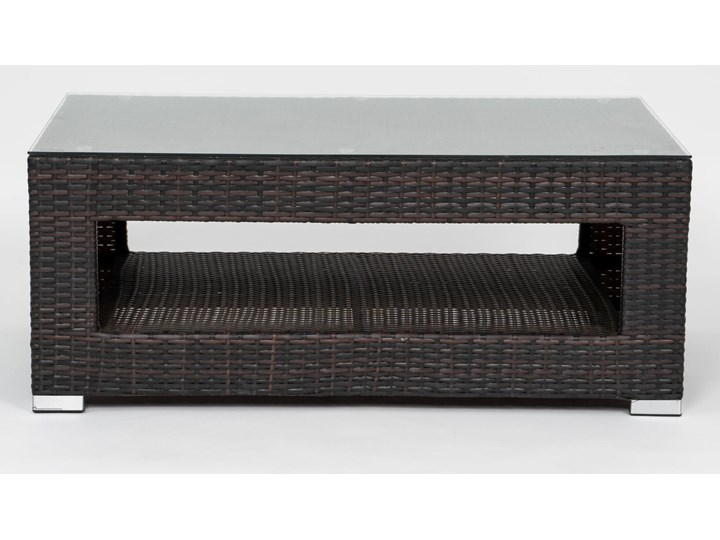 MEBLE OGRODOWE Z TECHNORATTANU RODOS (FC-1026) BRĄZOWY Zestawy wypoczynkowe Zawartość zestawu Fotele Zawartość zestawu Sofa