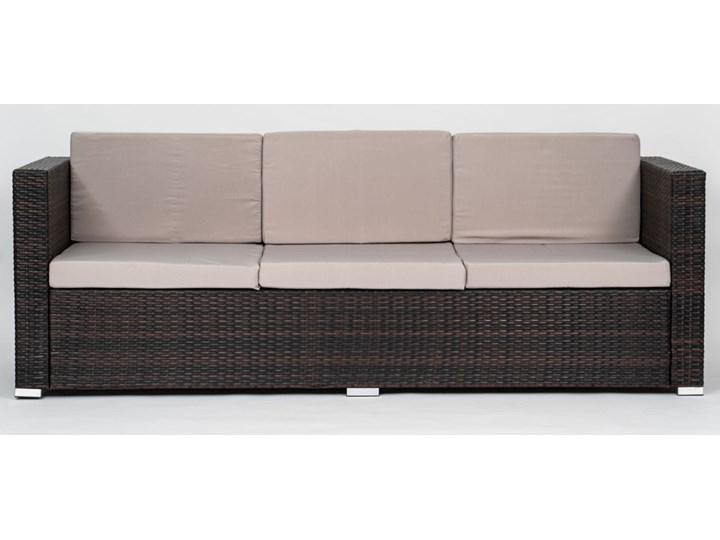 MEBLE OGRODOWE Z TECHNORATTANU RODOS (FC-1026) BRĄZOWY Zestawy wypoczynkowe Zawartość zestawu Sofa