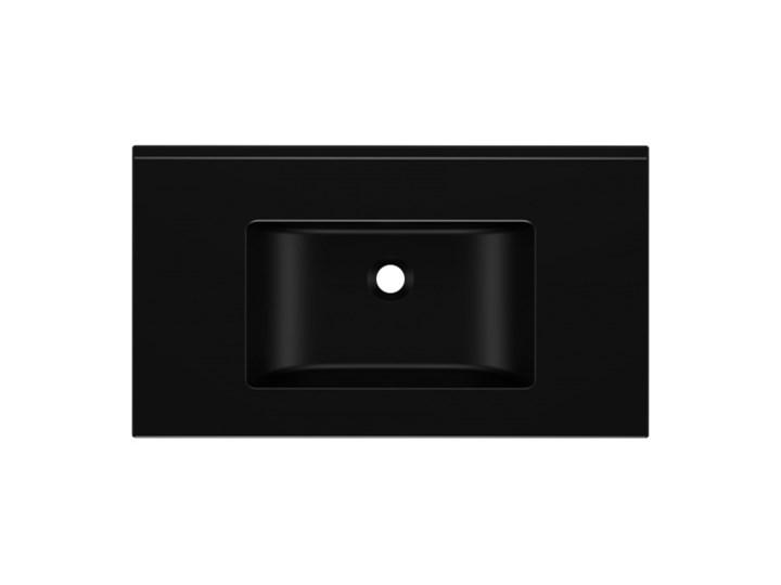 Umywalka KORNAT 81 Czarny Kamień naturalny Szerokość 81 cm Meblowe Kategoria Umywalki