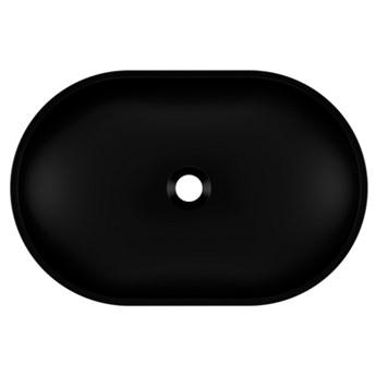 Umywalka nablatowa OLIB 60 Czarny
