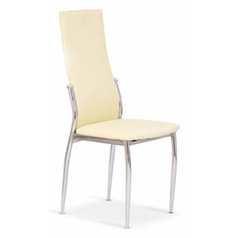 Krzesło K3 cztery kolory waniliowe