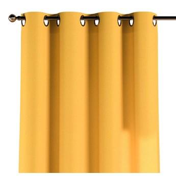 Zasłona na kółkach 1 szt., żółty, 1szt 130 × 260 cm, Loneta