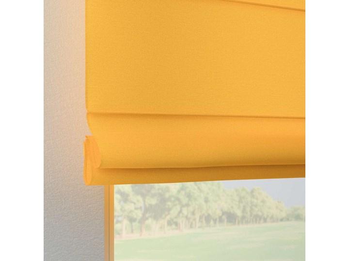 Roleta rzymska Verona, żółty, szer.80 × dł.170 cm, Loneta Pomieszczenie Salon