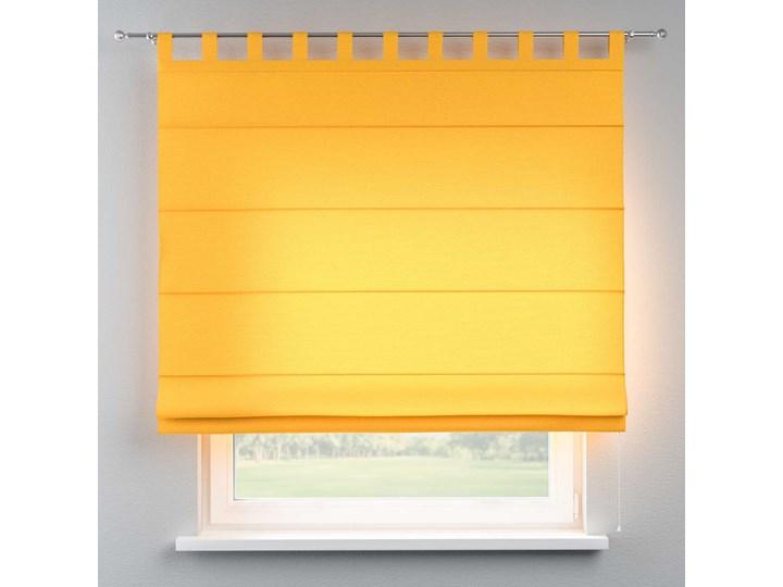 Roleta rzymska Verona, żółty, szer.80 × dł.170 cm, Loneta Pomieszczenie Sypialnia Pomieszczenie Salon