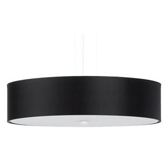 Czarny zwisający żyrandol z abażurem - EX699-Skalo