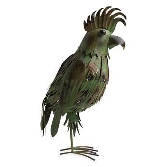 KAKADU zielono-czarna z metalu 57cm