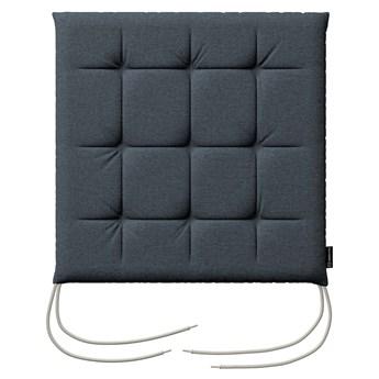 Siedzisko Karol na krzesło, niebieski, 40 × 40 × 3,5 cm, Etna