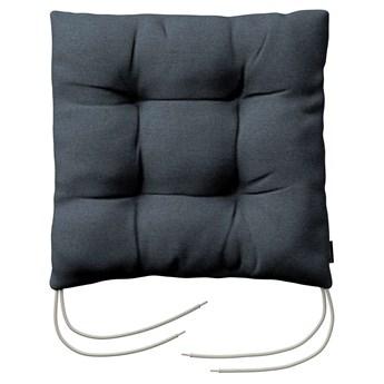 Siedzisko Jacek na krzesło, niebieski, 38 × 38 × 8 cm, Etna