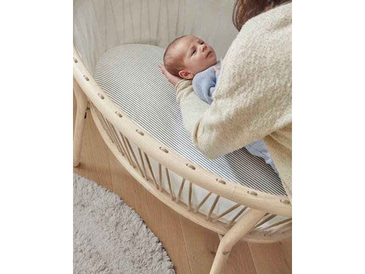 Kosz Mojżesza dla niemowląt Leonela 97x62 cm naturalny Drewno Płyta MDF Kategoria Kosze Mojżesza Kolor Beżowy
