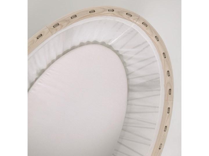 Kosz Mojżesza dla niemowląt Leonela 97x62 cm naturalny Płyta MDF Drewno Kosze Mojżesza Kategoria