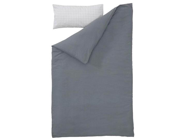 Pościel Alay 60x120 cm biało-szara Rozmiar poduszki 30x60 cm Bawełna Komplet pościeli Kategoria Komplety pościeli