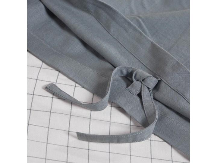 Pościel Alay 60x120 cm biało-szara Komplet pościeli Bawełna Kolor Szary