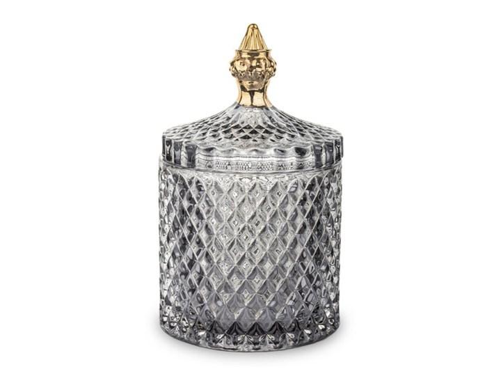 Pojemnik szklany Bonbon szary mały Szkło Typ Pojemniki Kategoria Pojemniki i puszki