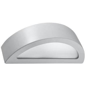 Szary ceramiczny kinkiet półokrągły - EX715-Ateno