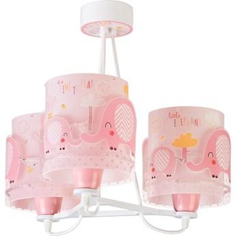 Elephant lampa wisząca 3-punktowa różowa 61337S