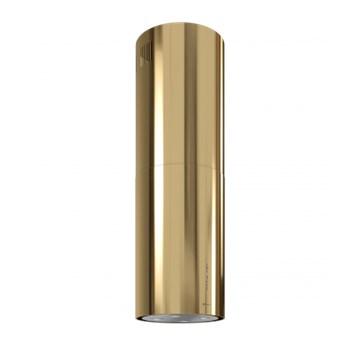 Okap wyspowy GLOBALO CYLINDRO ISOLA 39.5 LIGHT GOLD