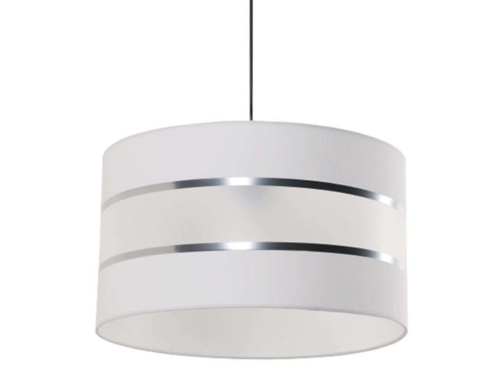Lampa wisząca Fabio Tworzywo sztuczne Metal Lampa z abażurem Styl Nowoczesny