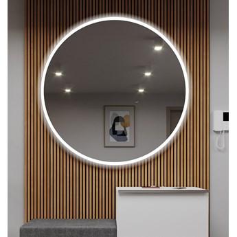 Okrągłe Lustro Łazienkowe Podświetlane LED76