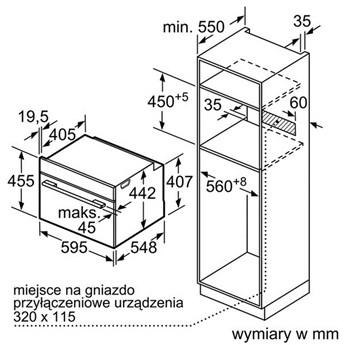 Piekarnik Bosch CMG 633BW1