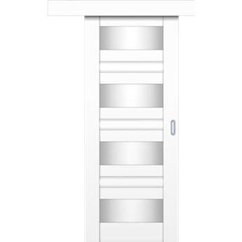 Drzwi Przesuwne HEAVEN - 100 cm Prawe  - Biel Capri