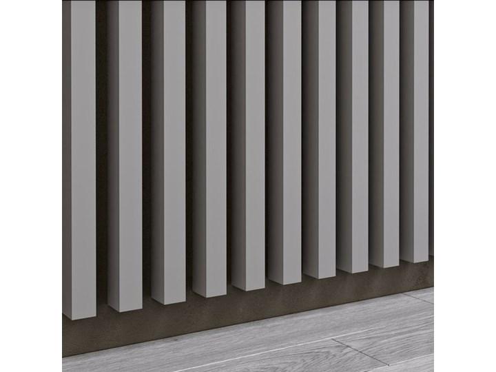 Szary - Lamele Premium 3D - Panele ozdobne ścienne akustyczne pionowe - uniwersalny  - LM005 - Szary Kategoria Panele 3D