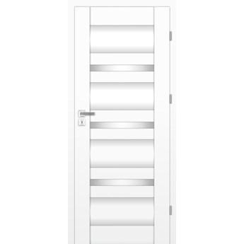 Skrzydło Drzwiowe MARITA - 100 Lewe  - Biel Capri