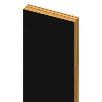 Półmat - Lamele Premium 3D - Listwa między lamele - uniwersalny  - Czarny
