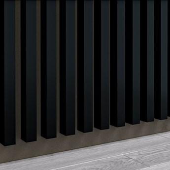 Lamele Premium 3D - Panele ozdobne - 240 cm - uniwersalny  - LM006 - Czarny