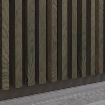 Dąb Kanadyjski - Lamele Premium 3D - Panele ozdobne ścienne akustyczne pionowe - uniwersalny  - LM012 - Dąb Kanadyjski