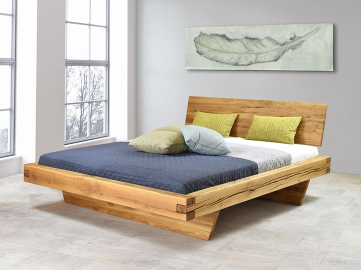 Łóżko drewniane dębowe Natural 3 160x200 Kategoria Łóżka do sypialni Rozmiar materaca 160x200 cm
