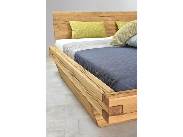 Łóżko drewniane dębowe Natural 3 180x200 Kategoria Łóżka do sypialni