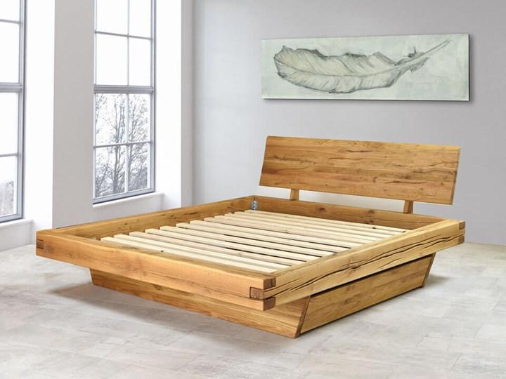 Łóżko drewniane dębowe Natural 3 180x200 Kategoria Łóżka do sypialni Rozmiar materaca 180x200 cm