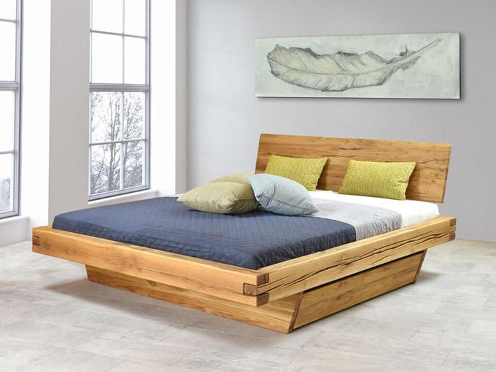 Łóżko drewniane dębowe Natural 3 160x200 Rozmiar materaca 160x200 cm Kategoria Łóżka do sypialni