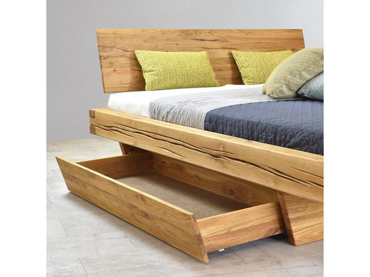 Łóżko drewniane dębowe Natural 3 160x200 Rozmiar materaca 160x200 cm