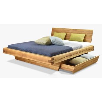 Łóżko drewniane dębowe Natural 3 180x200