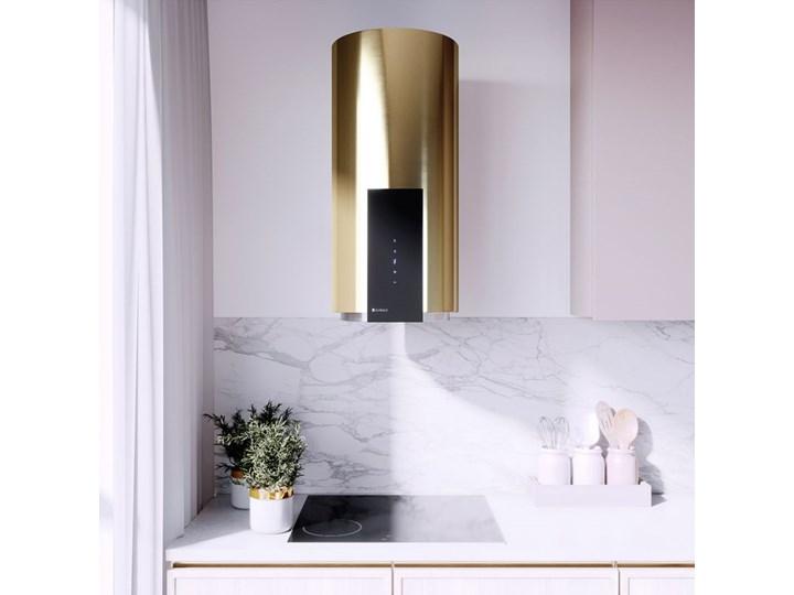 Okap kuchenny Roxano 39.1 Light Gold Okap przyścienny Poziom hałasu 68 dB