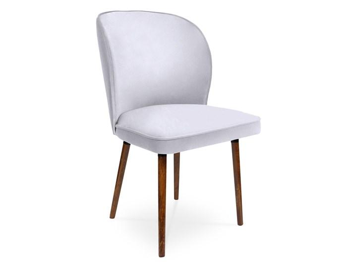 Bettso Krzesło RINO jasny szary / PA05 Styl Nowoczesny Głębokość 60 cm Wysokość 46 cm Szerokość 54 cm Wysokość 87 cm Tkanina Tapicerowane Szerokość 87 cm Drewno Głębokość 47 cm Kategoria Krzesła kuchenne