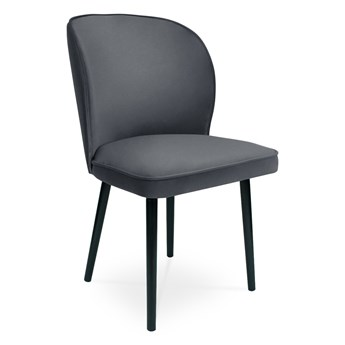 Bettso Krzesło RINO ciemny szary / PA06